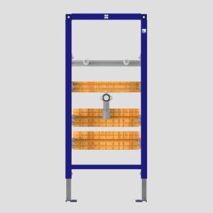 SANIT Waschtisch-Element INEO Einlocharmaturen zur Unterputzmontage von druckfesten Kleindurchlauferhitzern