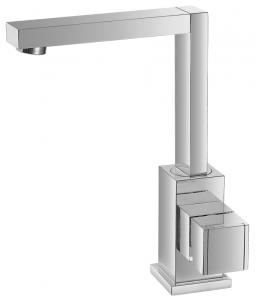 Varono Waschtisch Einhebelmischbatterie mit Ablaufgarnitur Serie-22