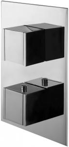Varono Unterputz Wannen Thermostat mit Einbaukörper und Umsteller Serie-22