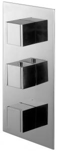 Varono Unterputz Wannen Thermostat m. Einbaukörper und Umsteller Serie-22