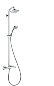 Hansgrohe Croma Showerpipe 160 1jet mit Thermostat