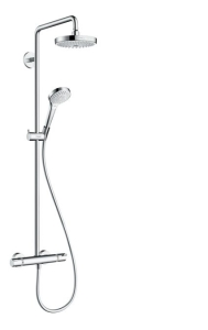 Hansgrohe Croma Select S Showerpipe 180 2jet mit Thermostat