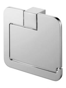 Aquaconcept Kross WC-Papierhalter mit Deckel (Oberfläche: verchromt)