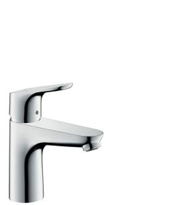 Hansgrohe Focus Einhebel-Waschtischmischer 100 mit Zugstangen-Ablaufgarnitur