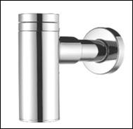 AquaConcept Design-Geruchsverschluss (Oberfläche: chrom)