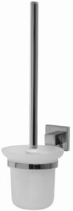 Aquaconcept Lina WC-Bürstengarnitur Wandmontage (Oberfläche: verchromt)