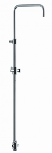 Aquaconcept Bellevue Standbrause höhenverstellbar, mit Umsteller (Variante: verchromt)