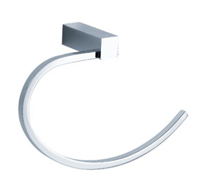 Aquaconcept SilverLine Handtuchring