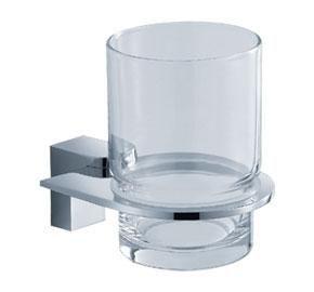 Aquaconcept GreyLine Glashalter 1-fach Wandmontage