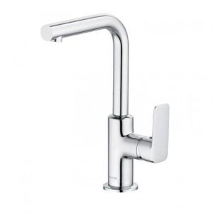 Kludi Pure&Style Waschtisch-Einhandmischer DN 15 schwenkbarer Auslauf ohne Ablaufgarnitur