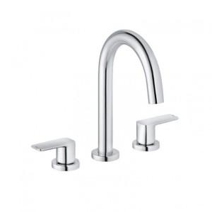 Kludi Pure&Style Waschtisch-Einhandmischer DN 15 3-Loch-Montage
