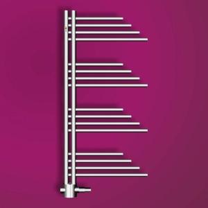 MERT Belluna Design-Badheizkörper chrom (Varianten:: Chrom Breite:500 Höhe:1000)