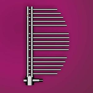 MERT Aycan Design-Badheizkörper chrom (Varianten in mm: Chrom Breite:500 Höhe:800)