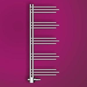 MERT Nezife Design-Badheizkörper chrom (Varianten: : Chrom Höhe:1200 Breite 500mm)
