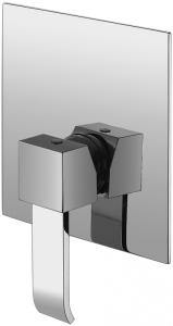 Varono Unterputz-Wanne/Brause-Einhebelmischbatterie, inkl. Einbaukörper, Serie 44