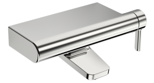 HANSADESIGNO  Einhand-Wannen-Batterie, DN 15 G1/2  für Wandaufbau