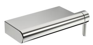 HANSADESIGNO  Einhand-Brause-Batterie, DN 15 (G 1/2)  für Wandaufbau