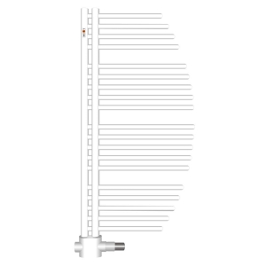 MERT Aycan Design-Badheizkörper weiß (Varianten in mm: RAL 9016 Verkehrsweiß Breite:500 Höhe:800)