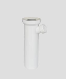SANIT WC-Anschlussstutzen 400mm seitlich Abgang weiß