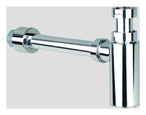 SANIT Design Geruchverschluss 607 1 1/4 x 32/40 mm, verchromt