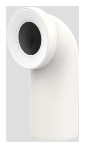 Sanit WC-Anschlussbogen DN100 pergamon 90 Grad