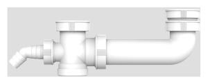 SANIT Ablaufverbindung G1 1/2 exzentrisch