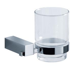 Aquaconcept SilverLine Glashalter 1-fach Wandmontage