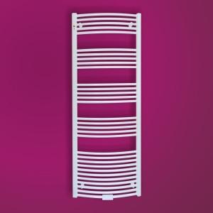MERT Standard Badheizkörper weiß-gebogen (Variante in mm: Breite:400 Höhe:800 Leistung 75/65° 317Watt)