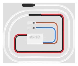 SANIT Netzgerät 230V für Betätigungsplatte LIS