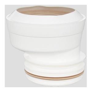 SANIT WC-Manschette DN100 d:108-114mm exzentrisch für Rohr ohne Muffe