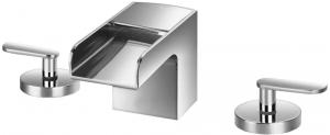 Varono 3-Loch-Waschtisch-Mischbatterie Serie -77