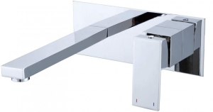 Aquaconcept Kross UP-Einhand-Waschtischarmatur (Oberfläche: verchromt)
