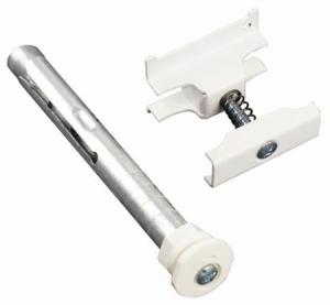 Purmo Delta Laserline Anschluss-Sets mit Bohrkonsole RA (Variante: Anschluss-Set 3 (4er),RA Länge 160 mm)