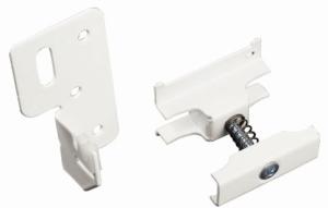 Purmo Delta Laserline Anschluss-Sets mit Winkelkonsole RW (Variante: Anschluss-Set 1 (4er))