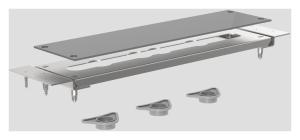 SANIT INEO RIM - Modulplatte für Armaturen