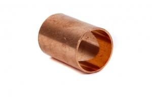 CU Muffe 5270 beiderseits mit Innenlötende (Abmessung: d=15mm)