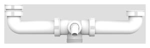 SANIT Ablaufverbindung G1 1/2 zentrisch
