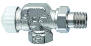Heimeier Thermostatventil-Unterteil V-exact II Axial 1/2