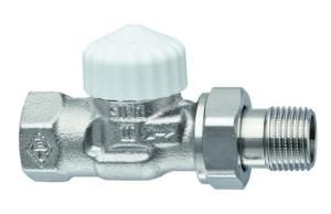 Heimeier Thermostatventil-Unterteil V-exact II Durchgang 1/2