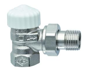 Heimeier Thermostatventil-Unterteil V-exact II Eck 1/2