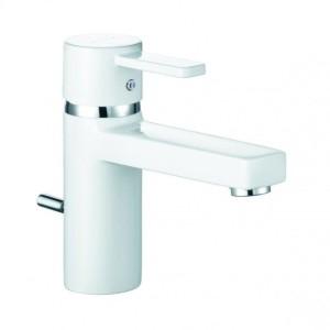 Kludi Zenta XL Waschtisch-Einhandmischer DN 10 weiß/chrom