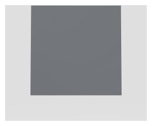 SANIT Designelement für  Betätigungsplatte LIS Glas anthrazit
