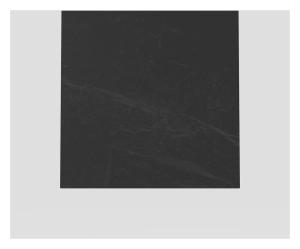 SANIT Designelement für  Betätigungsplatte LIS Schiefer grau