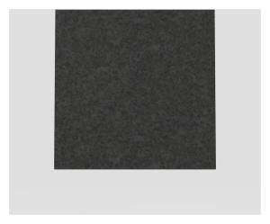SANIT Designelement für  Betätigungsplatte LIS Granit schwarz