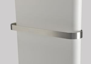Purmo Paros V Handtuchstange Edelstahl matt gebürstet (Variante: Baulänge: 380mm TYP11)