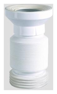 SANIT WC-Anschlussschlauch DN100 flexibel weiß