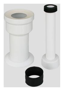 Sanit WC-Universal-Anschlussset für Kinder-Stand-WC DN 90