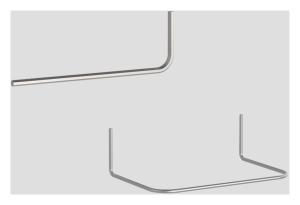SANIT Klammer und Schlüssel für Betätigungsplatte LIS