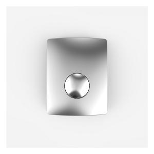 SANIT Urinal-Abdeckplatte Kunststoff chrom
