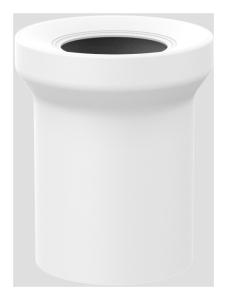 Sanit WC-Anschlussstutzen DN100 weiß 160mm